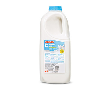 Friendly Farms 1% Milk 1/2 Gallon