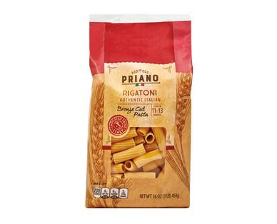 Priano Authentic Italian Bronze Cut Rigatoni Pasta