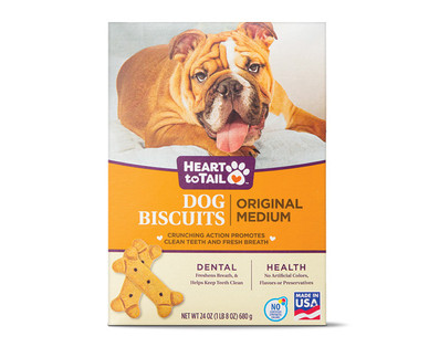 Heart to Tail Original Dog Biscuits