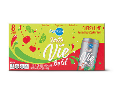 PurAqua Belle Vie Cherry Lime Water