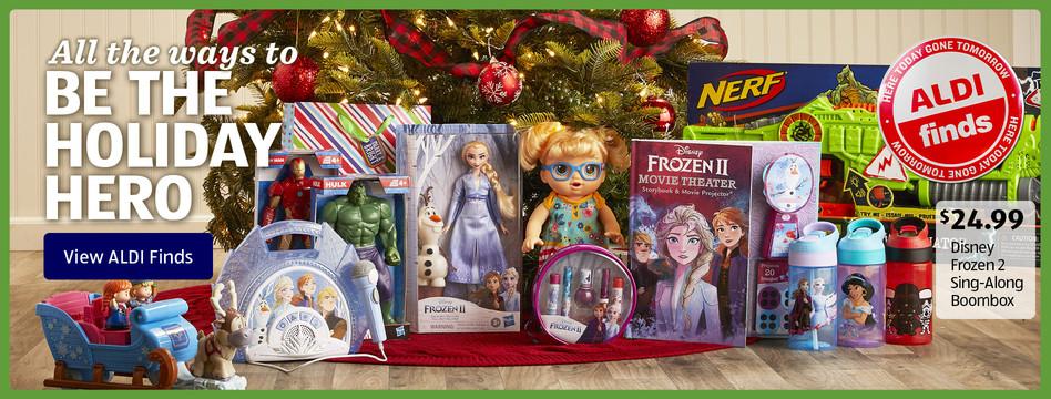 ALDI Find: Disney Frozen 2 Sing-Along Boombox. $24.99. View ALDI Finds.