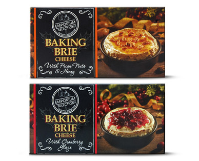 Emporium Selection Honey Pecan or Cranberry Baking Brie