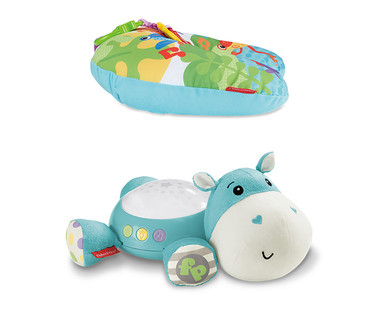 Fisher-Price Musical Elephant, Plush Hippo or Tummy Wedge View 4