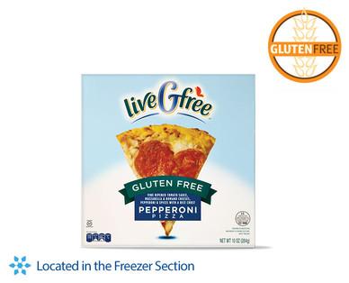 Gluten Free Pepperoni Pizza