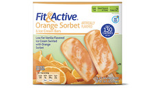 Fit and Active Orange Sorbet Ice Cream Bars. View Details.