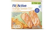 Fit & Active® Orange Sorbet Ice Cream Bars