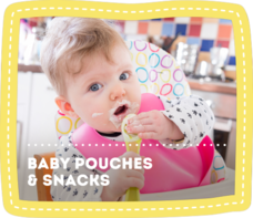 Baby Pouches & Snacks