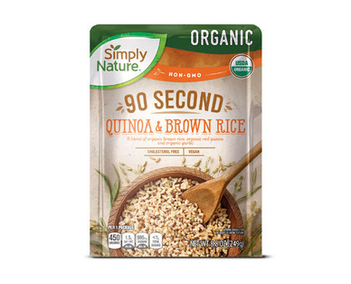 Simply Nature Organic 90 Second Quinoa & Brown Rice