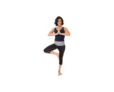 Crane Ladies Three Quarter Legging or Capri Yoga Pant View 1