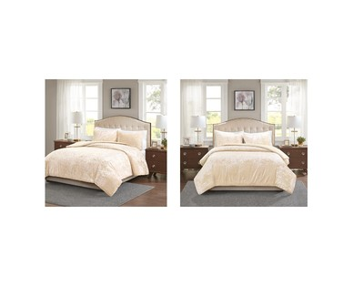 Huntington Home Crushed Velvet Comforter Set View 2
