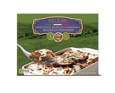 Priano Family Style Eggplant Parmigiana View 1