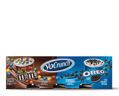 YoCrunch Oreo and M&M Yogurt Multipack