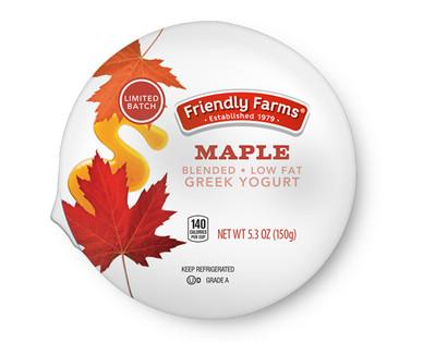 Friendly Farms Maple Lowfat Greek Yogurt