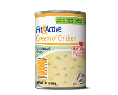 Fit and Active Cream of Chicken Condensed Soup