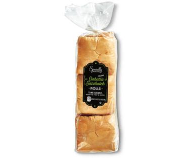 Specially Selected Ciabatta Sandwich Rolls