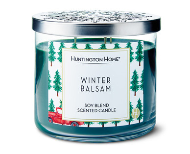 Huntington Home Winter Balsam 3 Wick Candle