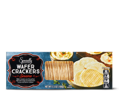 Specially Selected Sesame Wafer Crackers