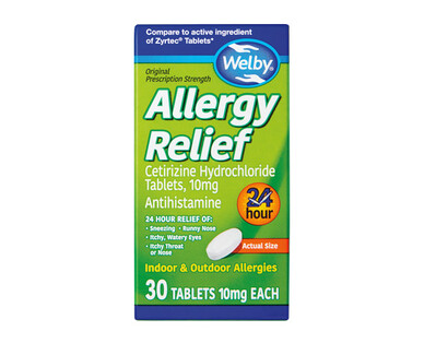 Welby 24 Hour Allergy Relief