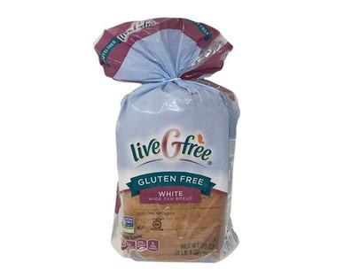 liveGfree Wide Pan Gluten Free Bread White