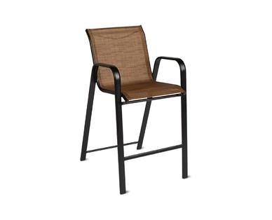 Gardenline Sling Bar Chair Aldi Us