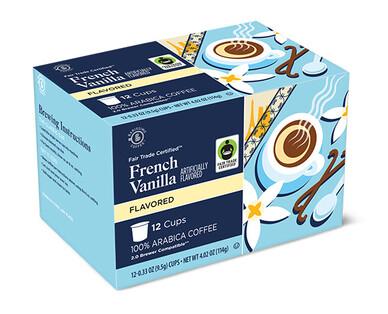 Barissimo French Vanilla Coffee Cups