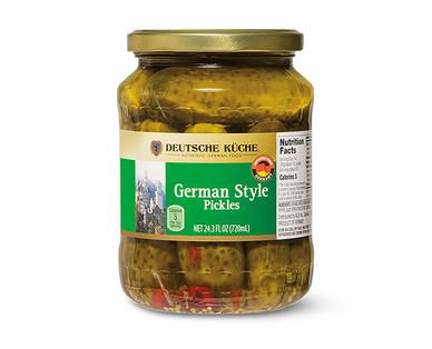 Deutsche Küche German Style Pickles View 1