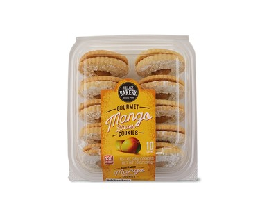 Village Bakery Mango or Raspberry Linzer Cookies View 1