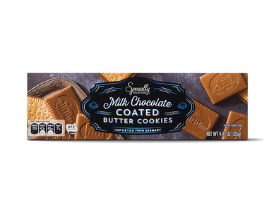 Specially Selected Milk Chocolate Coated Butter Cookies
