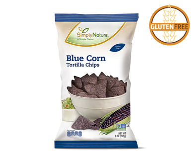 SimplyNature Blue Corn Tortilla Chips