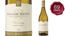 William Wright Chardonnay, 2016 Vintage. View Details.