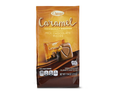 Choceur Caramel Individually Wrapped Chocolates
