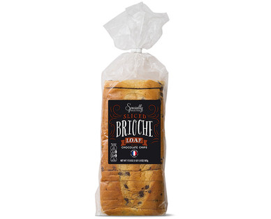 Specially Selected Sliced Chocolate Chip Brioche Loaf
