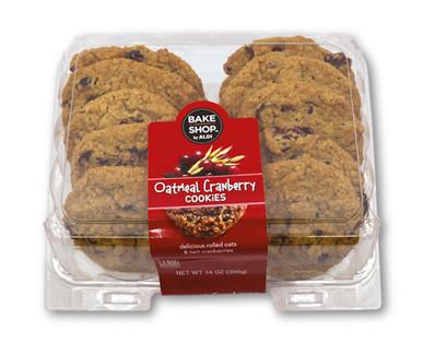 Bake Shop Gourmet Oatmeal Cranberry Cookies