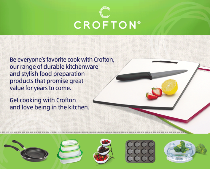 Crofton Kitchenware and Food Prep Products