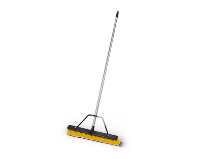 """WORKZONE 24"""" Multi-Surface or Rough Surface Heavy Duty Push Brooms View 2"""