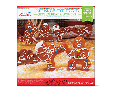 Crafty Cooking Kits Ninjabread Gingerbread Cookie Kit