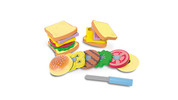 Wooden Play Food Set