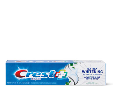 Crest Complete Plus Extra Whitening Toothpaste