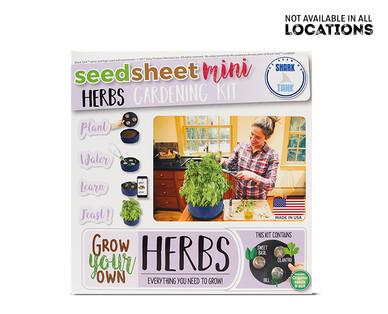 Seedsheet Mini Gardening Kit View 2