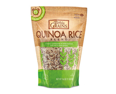 Earthly Grains 4 Grains or Quinoa & Rice Blend View 2