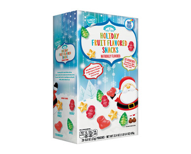 Lunch Buddies Holiday Fruit Flavored Snacks