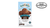 liveGfree Gluten Free Double Chocolate Brownie Soft Baked Cookies
