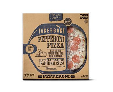 Mama Cozzi's Pizza Kitchen Sixteen Inch Pepperoni Deli Pizza