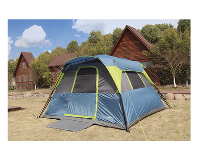 Adventuridge 6 Person 10 X 9 Instant Cabin Tent Aldi Us