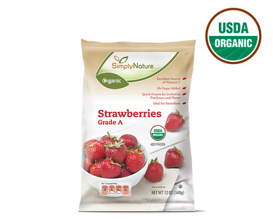 Frozen Organic Strawberries
