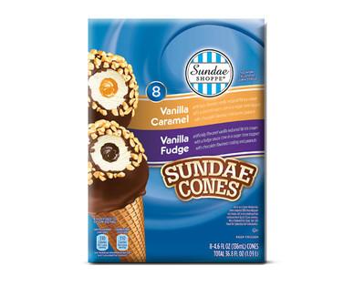 Sundae Shoppe Fudge & Caramel Sundae Nut Cones Variety Pack