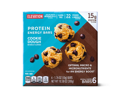 Elevation by Millville Cookie Dough Protein Energy Bars