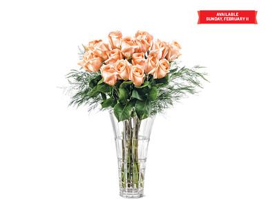 aldi us - perfect petal valentine's day dozen rose bouquet, Ideas