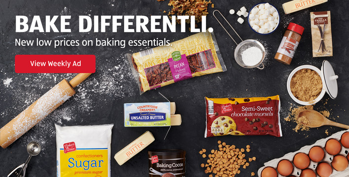 Bake Differentli. New low prices on baking essentials. View Weekly Ad.