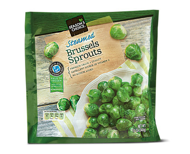 Season's Choice Steamable Brussels Sprouts
